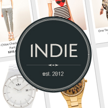 Indie Responsive Big Cartel Theme